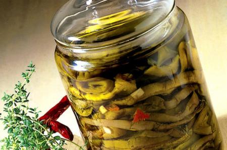 melanzane sott'olio ricetta pugliese