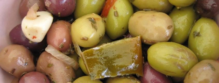 raccolta di ricette a base di olive