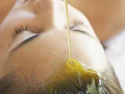 olio per la cura dei capelli