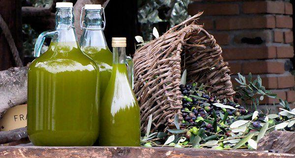 come filtrare l'olio di oliva in casa