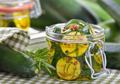 preparare le zucchine sott'olio pugliesi