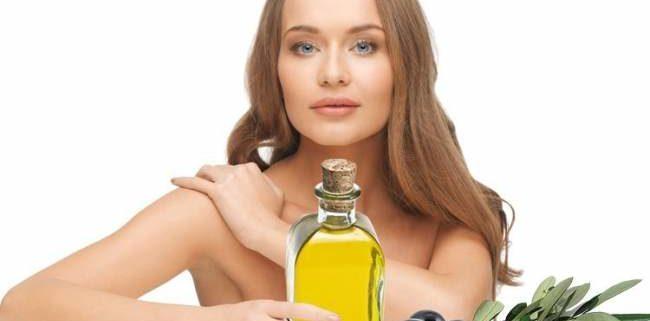 olio di oliva e cosmetica
