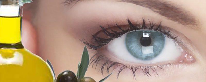 come usare l'olio di oliva come contorno occhi