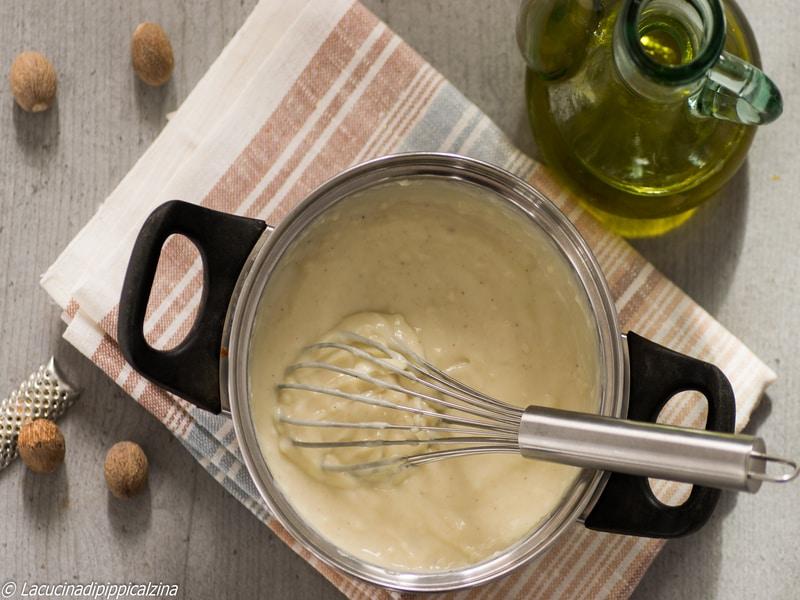 Come preparare la besciamella con olio di oliva