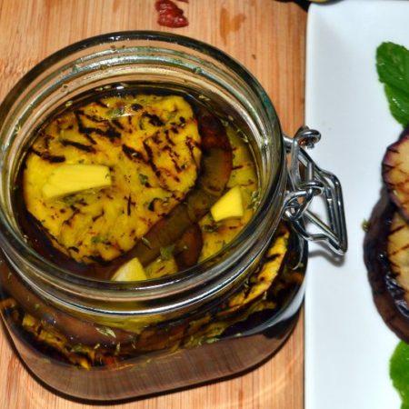 Come preparare le melanzane grigliate sott'olio