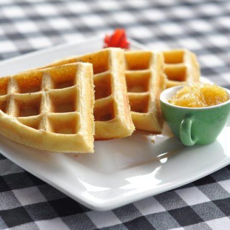 Come preparare i Waffles con olio di oliva