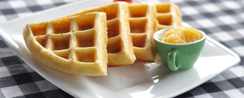 come preparare i waffle con olio extravergine di oliva