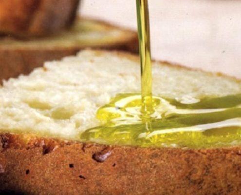 Come degustare pane olio e sale