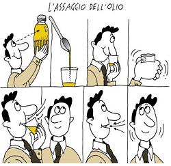 come assaggiare l'olio di oliva