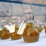 Bomboniera al sapore di olio d'oliva