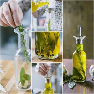 Ecco 6 passaggi per Aromatizzare l'Olio di Oliva