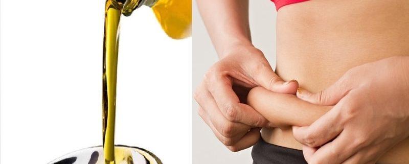 Olio Evo ottimo rimedio contro il grasso addominale!