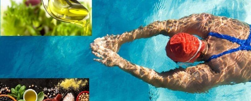 Olio Evo miglior alleato per un nuotatore!