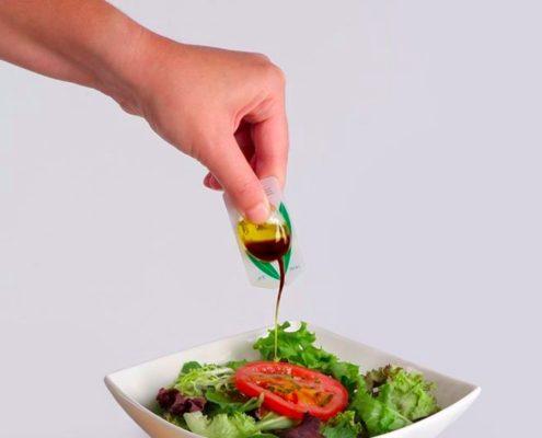 Bustine monodose olio di oliva per la ristorazione