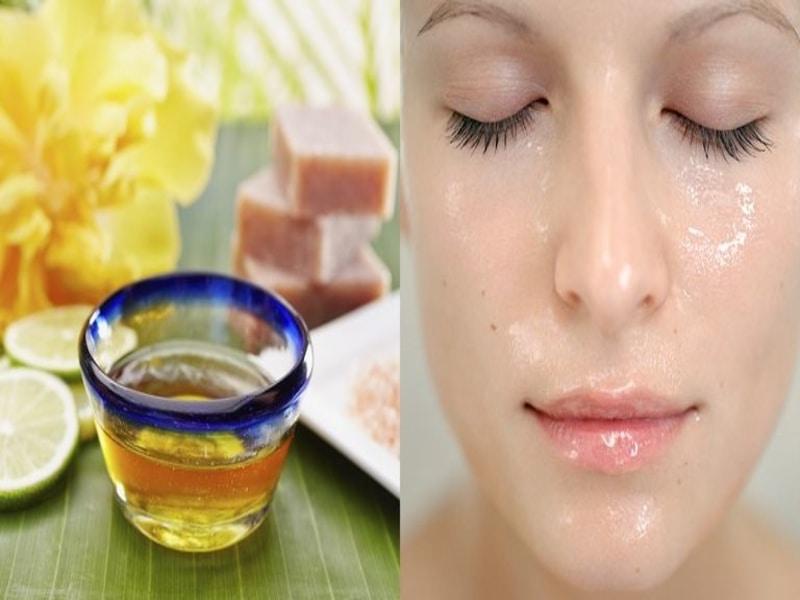 Olio di oliva per la cura del viso