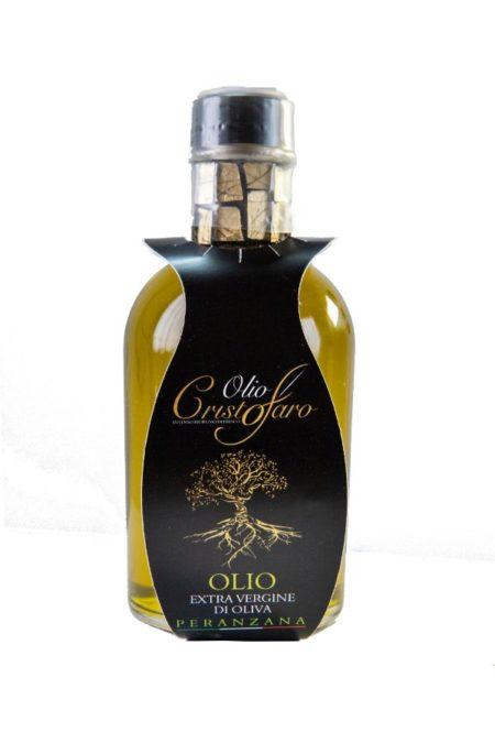 bomboniera olio matrimonio louis trasparente bordo oro