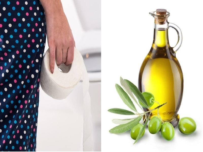 Olio Extravergine di Oliva per combattere la Diarrea