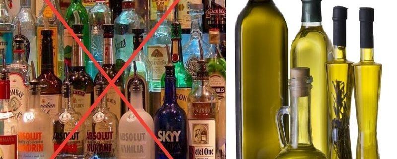 Olio Evo e Alcool: prevenire è meglio che curare!