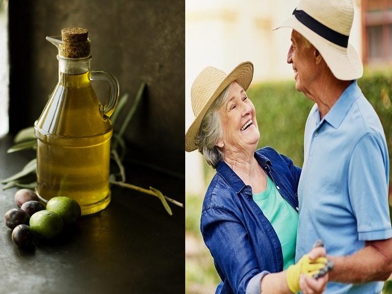 L'Oleuropeina dell'Olio di Oliva può ridurre l'Invecchiamento Cellulare