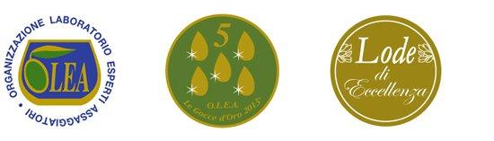olio premiato al concorso oro d'italia 2019