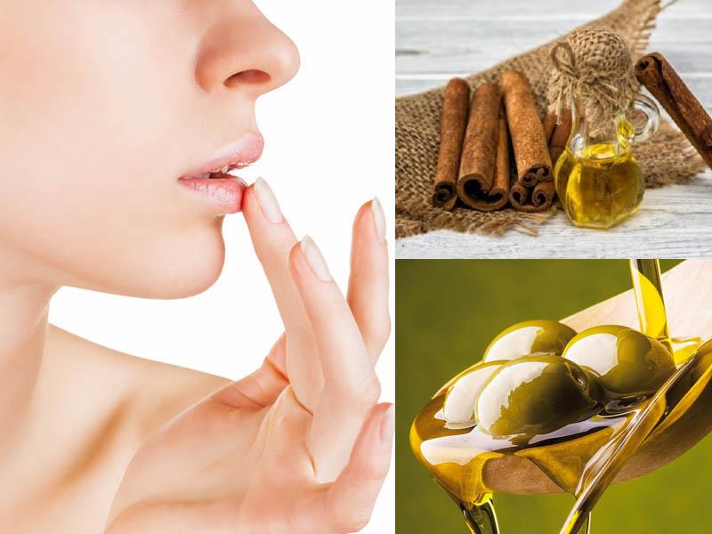 Olio di oliva e cannella, per labbra più carnose tutte al naturale!