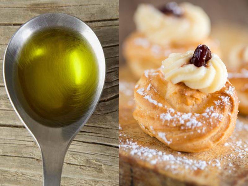 Zeppole di San Giuseppe: usiamo l'Olio Evo e non il Burro!