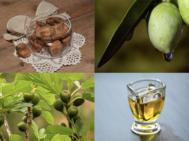 Olio di oliva e Fichi secchi: contro i disturbi gastrici e intestinali