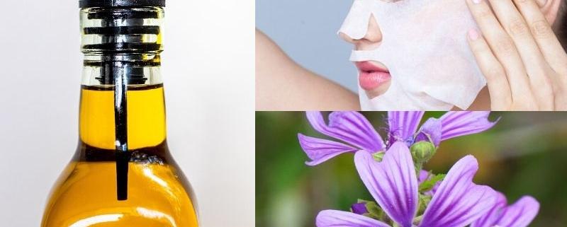 Maschera lenitiva alla Malva e Olio Evo: ottimo rimedio della nonna!