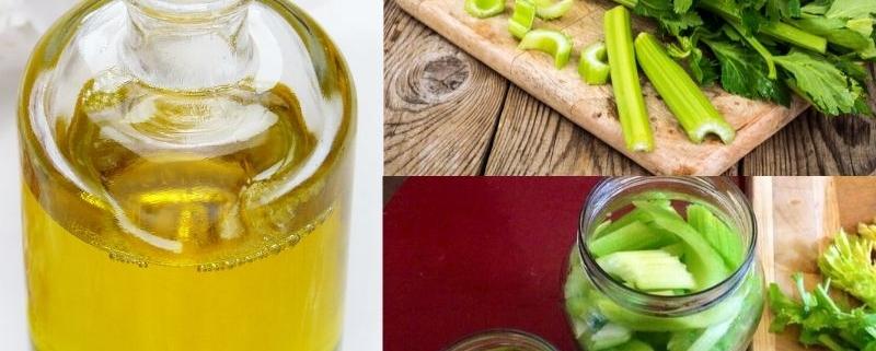 Sedano sott'olio: una conserva da gustare nei mesi più caldi