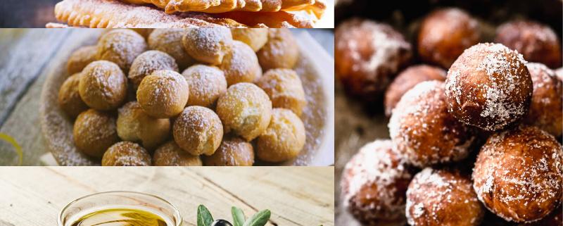3 Ricette dei miglior dolci tradizionali di Carnevale con Olio di Oliva