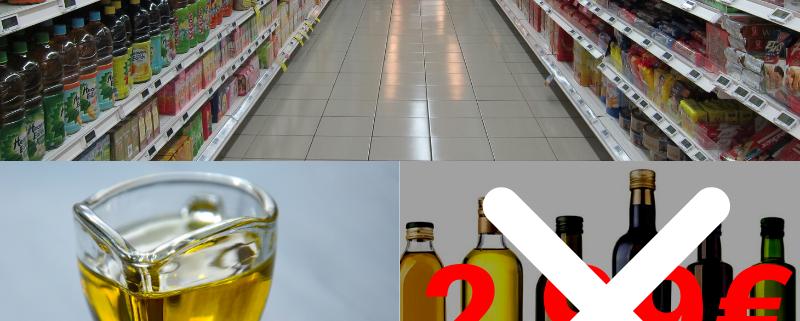 L'Olio di Oliva a 2,99€: una truffa che sa di Marketing!