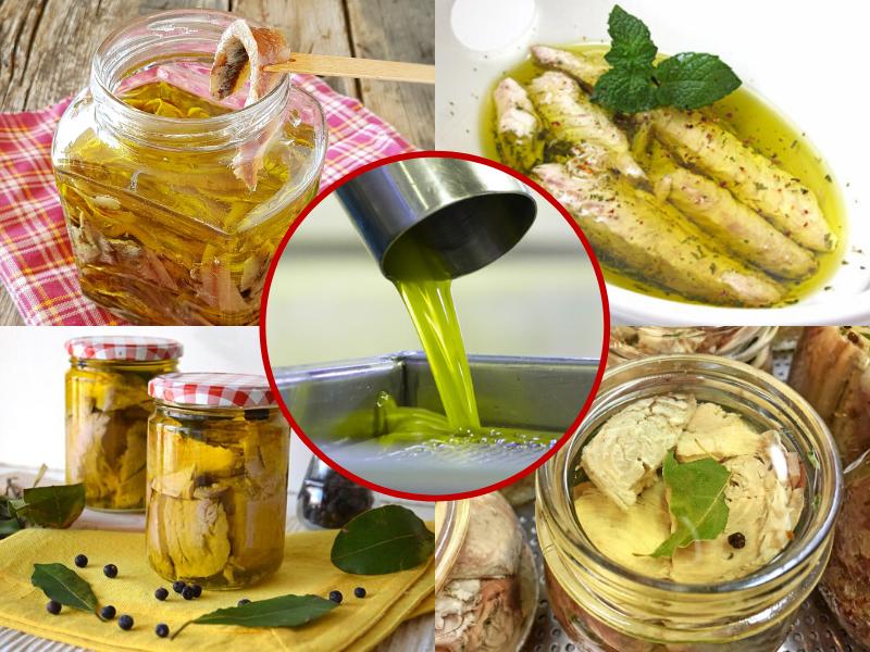 Quali tipologie di Pesce è possibile conservare Sott'Olio? Ecco 4 Ricette della Tradizione!
