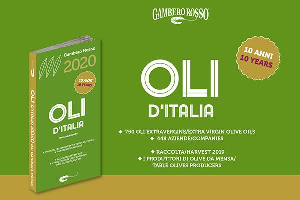 guida olio d'italia gambero rosso