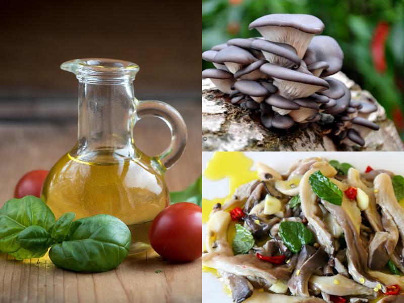 Funghi Pleurotus sott'Olio fatti in casa: ricetta semplice e veloce da realizzare