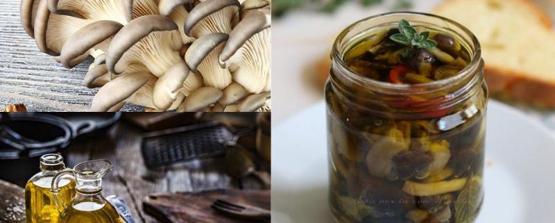 Funghi cardoncelli sott'olio