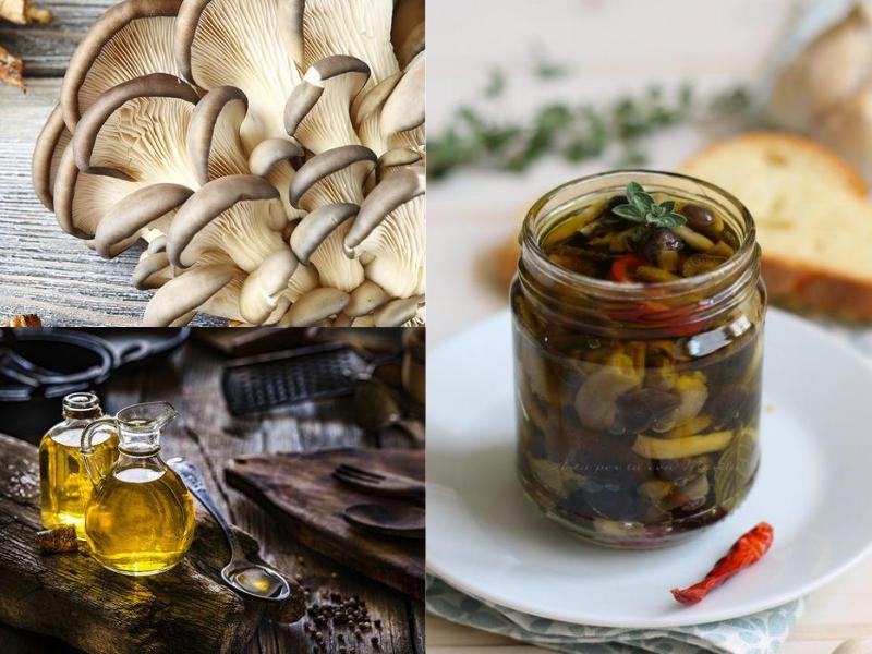 Funghi Cardoncelli sott'olio: una conserva della tradizione pugliese