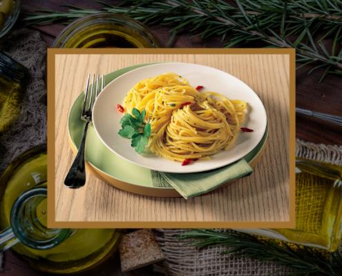 Pasta con Aglio, Olio Evo e Peperoncino: sapori della terra in un'unica ricetta