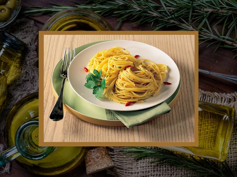 Pasta con Aglio, Olio Evo e Peperoncino: dalla terra al piatto