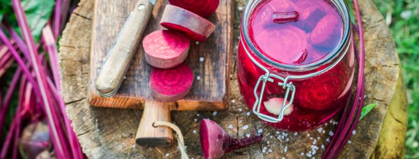 Barbabietola rossa sott'olio: conserva alleata del nostro organismo