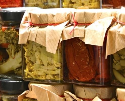Alcuni accorgimenti sulla conservazione degli alimenti sott'olio